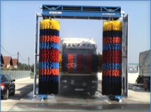 három kefés kamionmosó