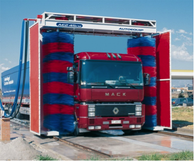 kamionmosó berendezések